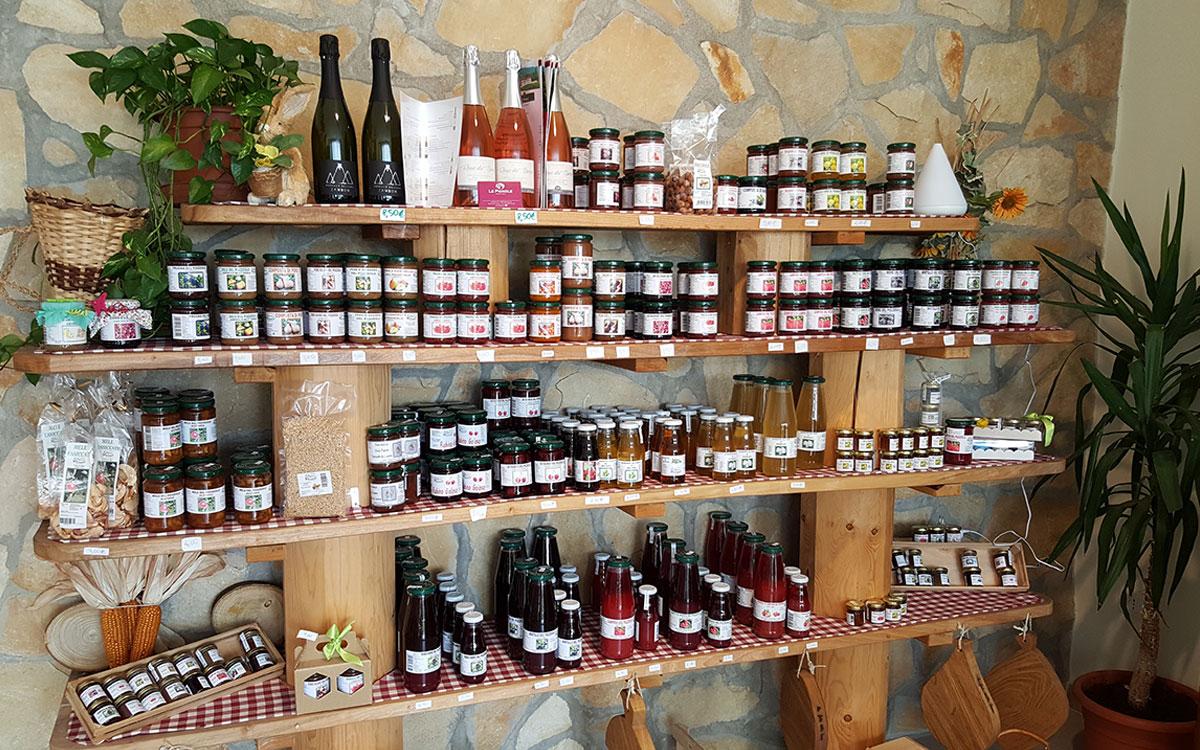 Azienda Agricola I Frutti Del Pozzeolo Produzione Frutta di Qualita' a Vestenanova in provincia di Verona Prodotti Trasformati Marmellate Confetture