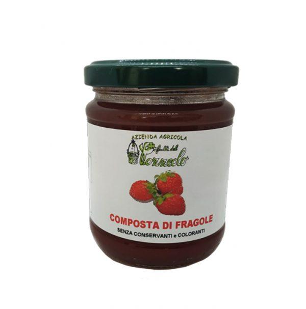 Composta di Fragole - I frutti del Pozzeolo