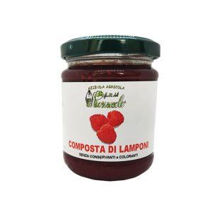 Composta di Lamponi - I Frutti del Pozzeolo