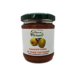 Confettura di Pere Cotogne - I Frutti del Pozzeolo
