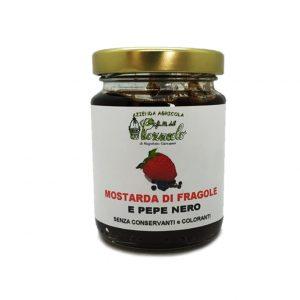 Mostarda di Fragole e Pepe Nero- I Frutti del Pozzeolo