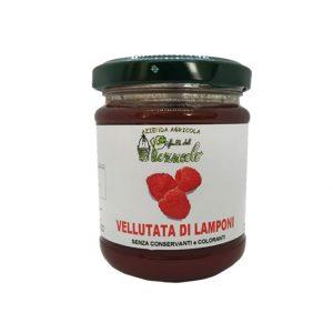 Vellutata di Lamponi - senza semi - I Frutti del Pozzeolo